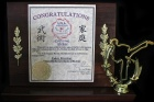 Valery Prosvirov Chinese Martial Arts Master of the Year (2014)